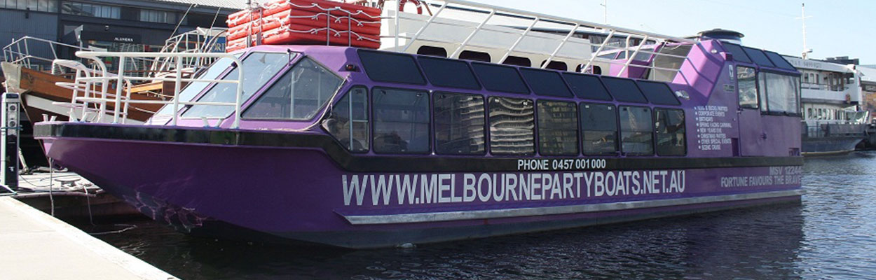 Melbourne's Newest Party Boat